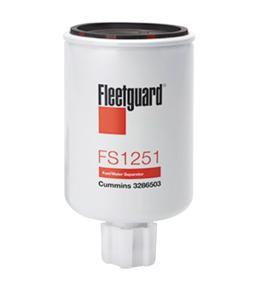 FS1251 Fleetguard Fuel/Water Sep Spin-On