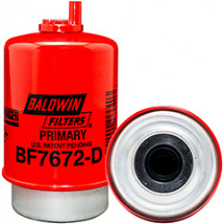 BF7672-D Baldwin Heavy Duty Primary Fuel/Water Coalescer Element with Drain