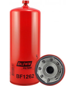 BF1262 Baldwin Heavy Duty Fuel/Water Separator Spin-on with Drain