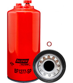 BF1277-SP Baldwin Heavy Duty FWS Spin-on with Drain and Sensor Port