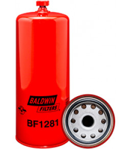 BF1281 Baldwin Heavy Duty Primary FWS Spin-on with Drain