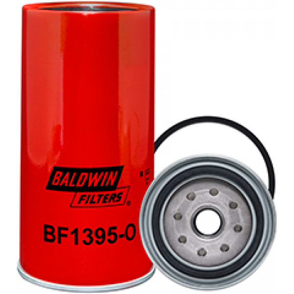 BF1395-O Baldwin Heavy Duty Fuel/Water Separator Spin-on with Open Port for Bowl