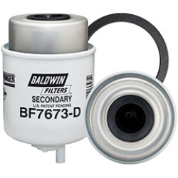BF7673-D Baldwin Heavy Duty Secondary Fuel/Water Coalescer Element with Drain