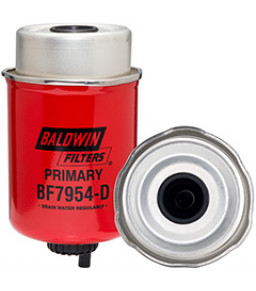 BF7954-D Baldwin Heavy Duty Primary Fuel/Water Separator Element with Removable Drain