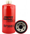 BF9883 Baldwin Heavy Duty Fuel Spin-on with Drain