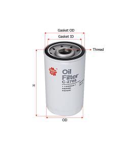 C2705 Sakura Oil Filter